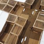 Espacios modulares Maqueta