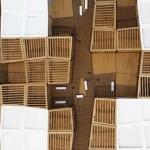 Maqueta de arquitectura para estudio