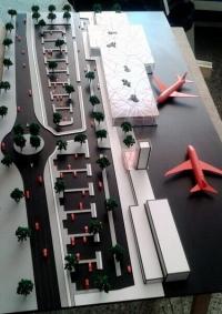 maqueta de aeropuerto