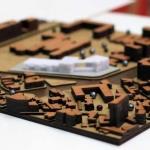 maqueta de urbanismo conceptual