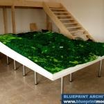 maqueta topográfica del relieve 3D