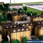 Conjunto residencial maqueta