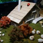 Maqueta Casa de Piedra