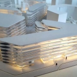 Maqueta Conceptual Edificios de Oficinas