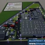 Maqueta Industrial en detalle
