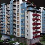 Maqueta de Complejo residencial