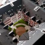 Maqueta de Conjunto Habitacional 3D