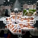 Maqueta de Conjunto Residencial 3D