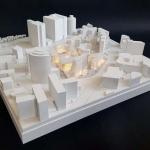Maqueta de Edificio de Oficinas