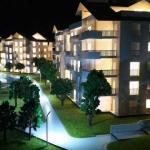 Maqueta para promociones inmobiliarias