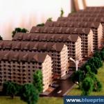 Maquetas de edificios Conjunto residencial
