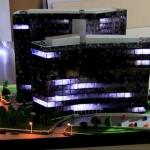 Maquetas iluminadas de Edificios