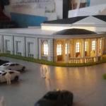 maqueta arquitectonica edificio colonial