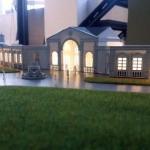maqueta arquitectonica edificoos para eventos