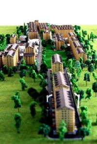 maqueta conjunto residential
