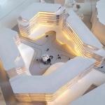 maqueta de arquitectura edificios