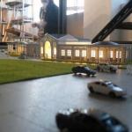 maqueta de arquitectura edificoos para eventos