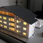 Maqueta de promoción de vivienda