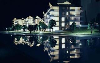 Maqueta promocion residencial