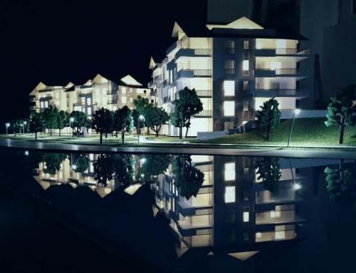 Maqueta residencial – Swiss Lake