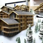 maquetas de casa de madera