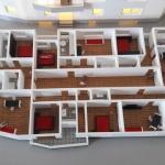 plan de viviendas residencial