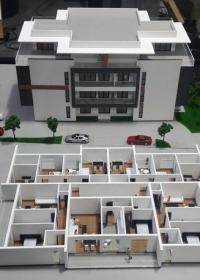 Edificio Residencial - Maqueta de detalle