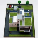 Maqueta Arquitectonica Casa Ecologica