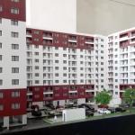 Maqueta de arquitectura Conjunto residencial