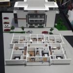 Maqueta de detalle edifico