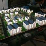 Maqueta en 3D Conjunto Residencial