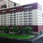 Maquetas arquitectonicas Conjunto residencial