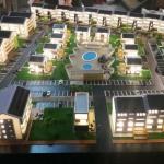 maqueta edificios en 3d