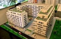 maqueta arquitectonica residencial