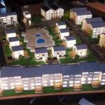 maqueta de edificios en 3d