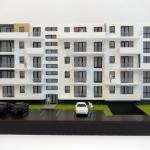 maqueta de residencial