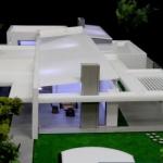 maqueta desmontable de casa a escala