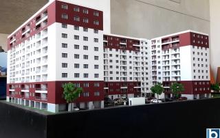 maqueta residencial