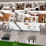 Maqueta Edificio Apartamentos