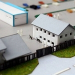 Maqueta industrial fabrica