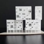 maqueta conceptual edificio