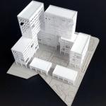 maqueta de edificios