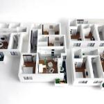 Maqueta Piso Apartamentos