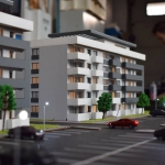 Maqueta de Edificio