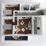 Maqueta de detalle Apartamento