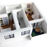 Maqueta detalle piso