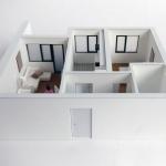 Maqueta promocion para viviendas