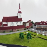 maqueta Arquitectura religiosa