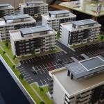 maqueta Edificio de viviendas