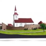 maqueta iglesia fortificada